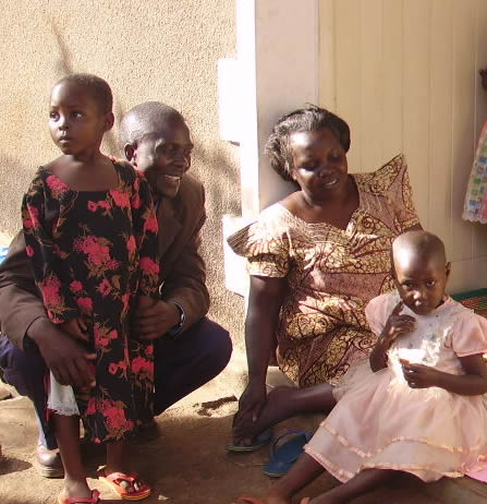 New Arrivals, Deborah and Fatumah with House Parents