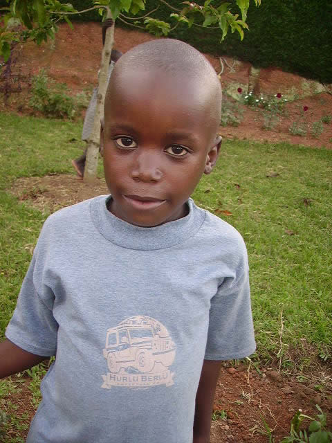 Frank Mugera, an EWCV Child