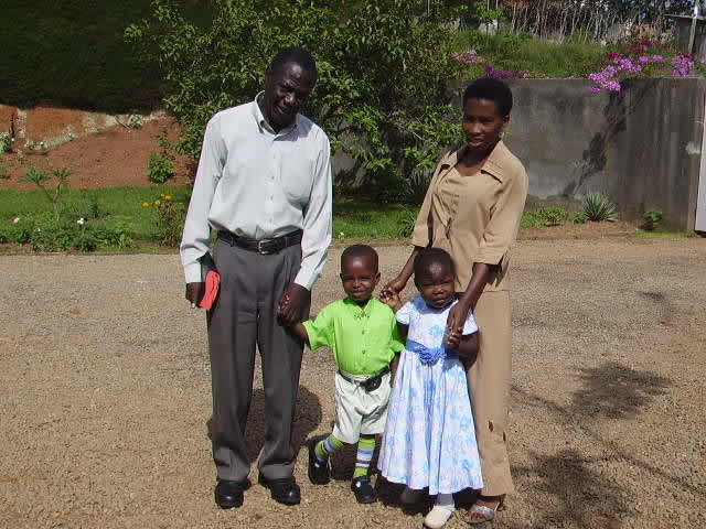EWCV House Parent, Teacher, and Two Children