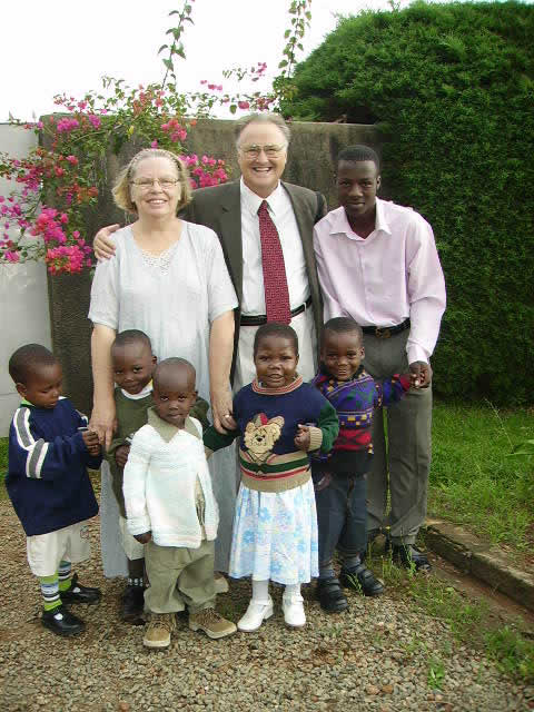 Bill, Ann, Moses, and Five Children