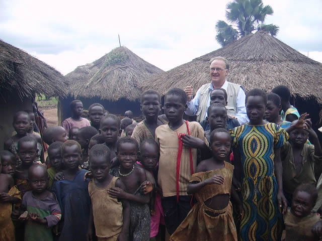 Bill with Many Children in IDP Camp