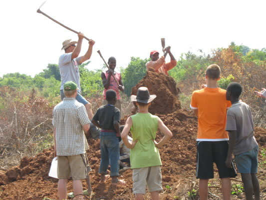Digging a Pit Latrine