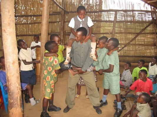 EWCV Children and Teacher Perform Drama Skit about Being a Tree