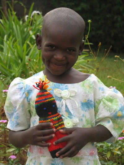 EWCV Girl with Knitted Doll