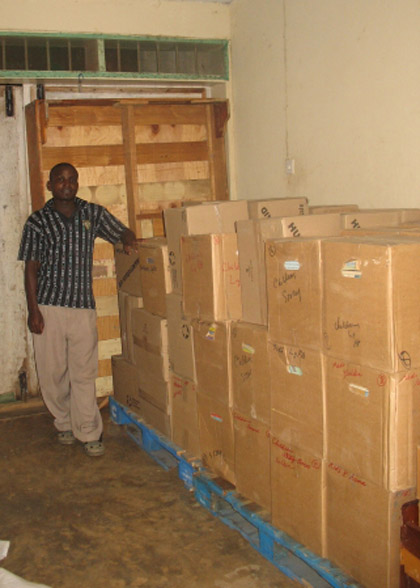 Sixty-eight Boxes of Books from Manitoba