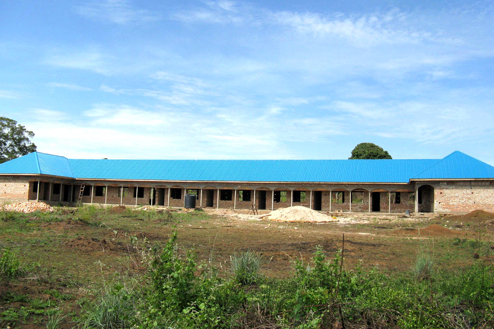 Adding the School's Blue Roof