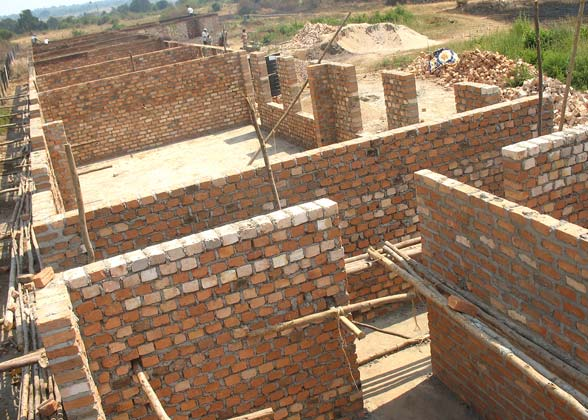 Building the School's Brick Walls