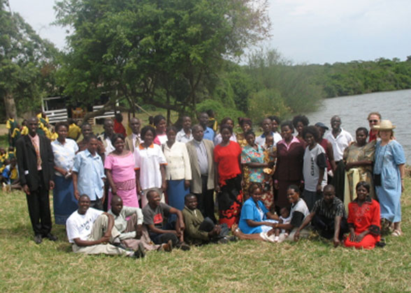 EWCV Staff at Lake Mburo