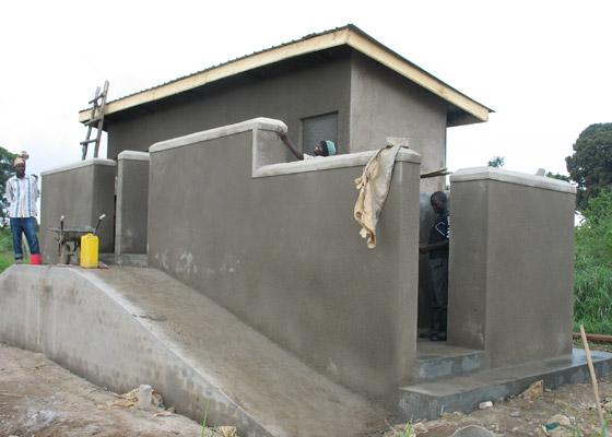 Ecosan Washroom Nearing Completion