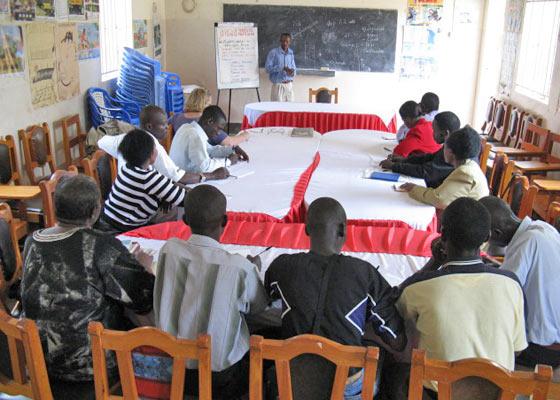 EWCV Staff Learning Farming Methods