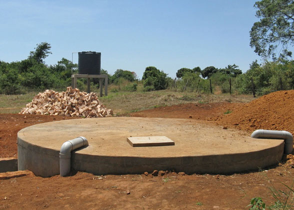 Rain Water Cistern and Well Water Storage Tank