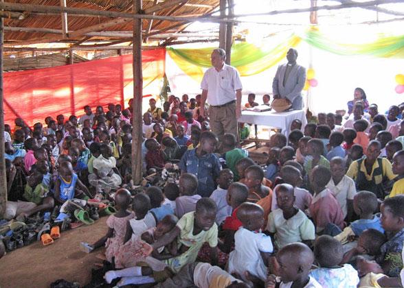 Christmas Service at EWCV's Lubumba Community Church