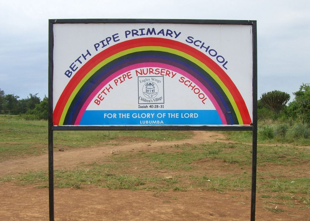 Beth Pipe Nursery and Primary School Banner