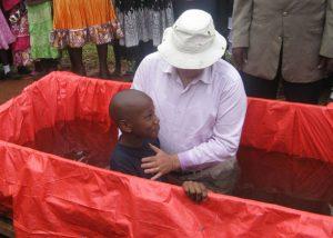 Dan Being Baptized by Ja Ja Bill