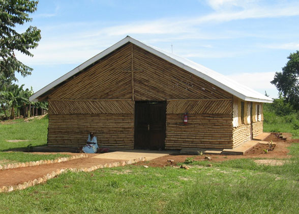 Lubumba Community Church on the EWCV Property