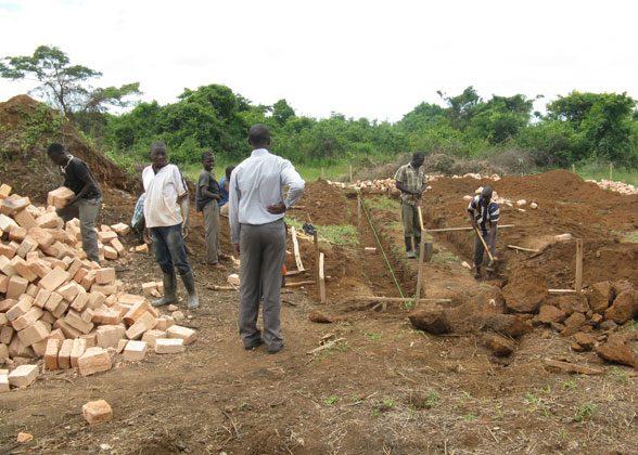 Construction Begins on EWCV High School