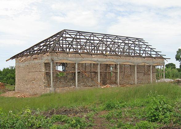 EWCV High School with Framed Roof