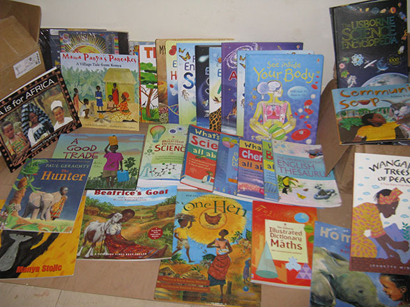 Children's Books Donated to EWCV