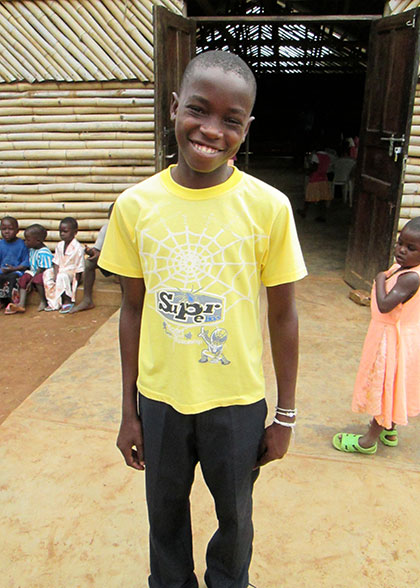Sponsored Child Smiling