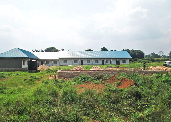 High school administration block will hold offices and a staff room.