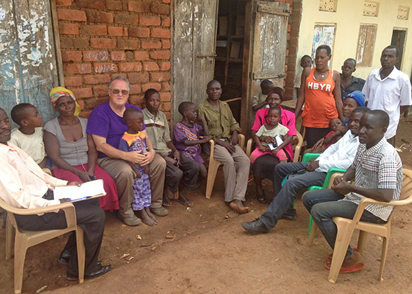 A team of adults from EWCV went out to several villages to tell people about Jesus.