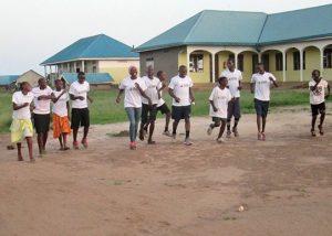 EWCV Students Training for the Marathon