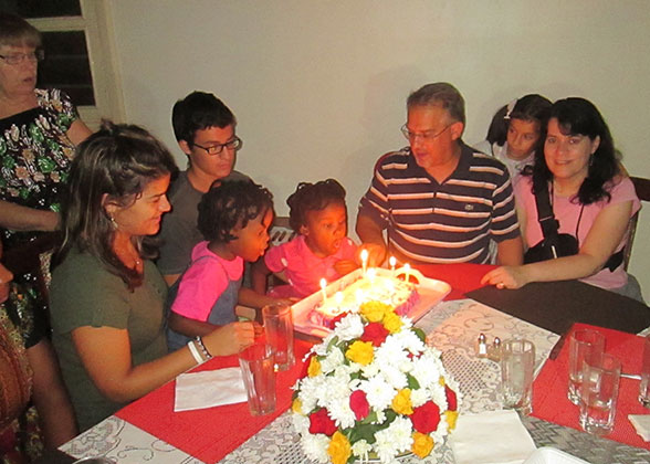 Macris Family Celebration 25th Anniversary and Children's Birthdays