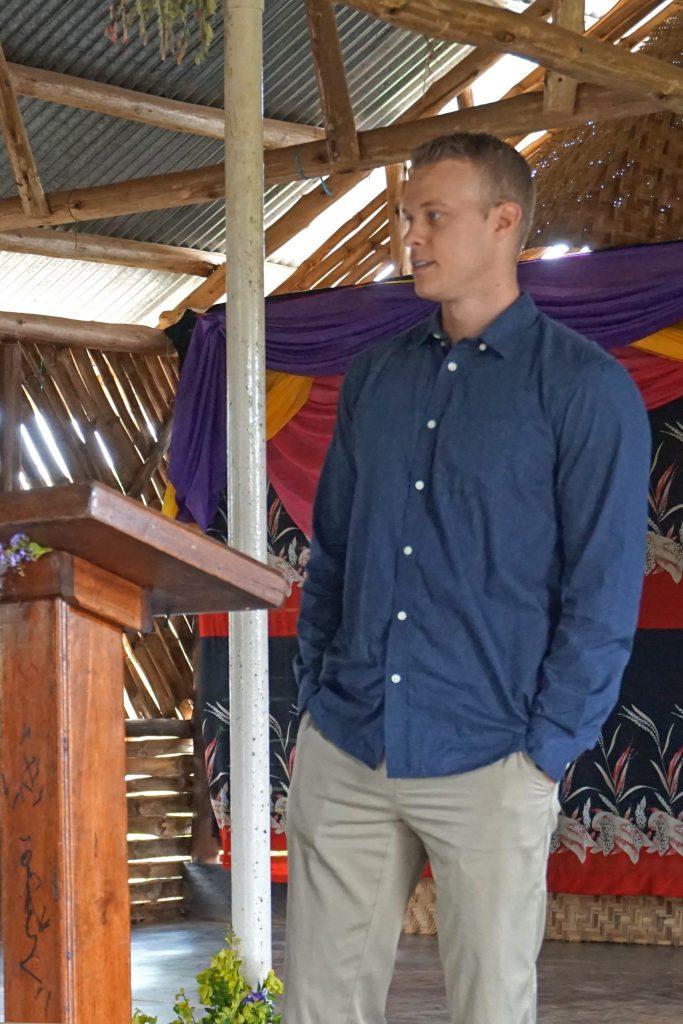 34  Pastor  Jonathan  Preaching
