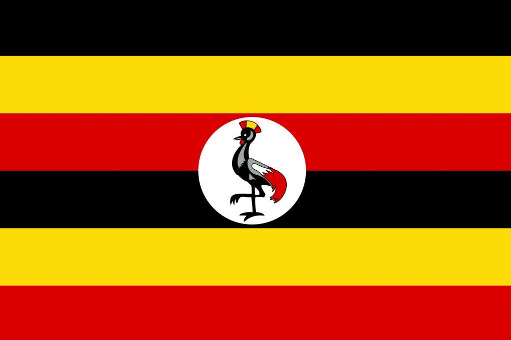 flag printable uganda