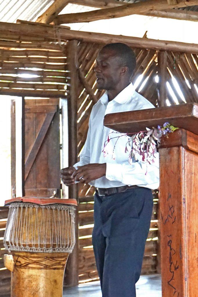 4  Pastor  Allan  Preaching