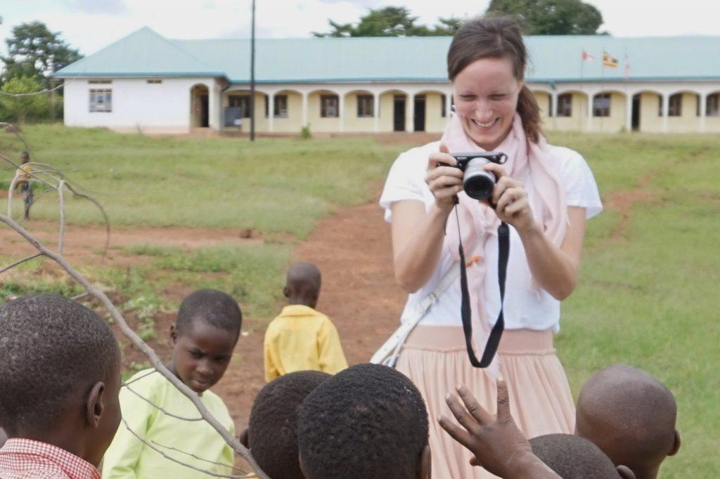 81 someone photographing children HE