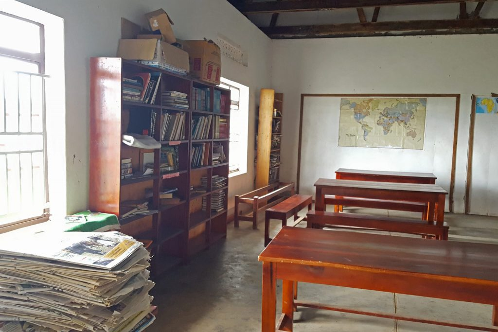 Education  Inside  Library