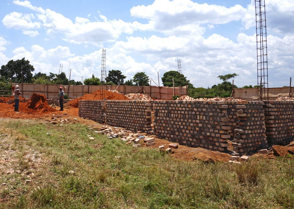 EWCV's General Administration Building Being Constructed