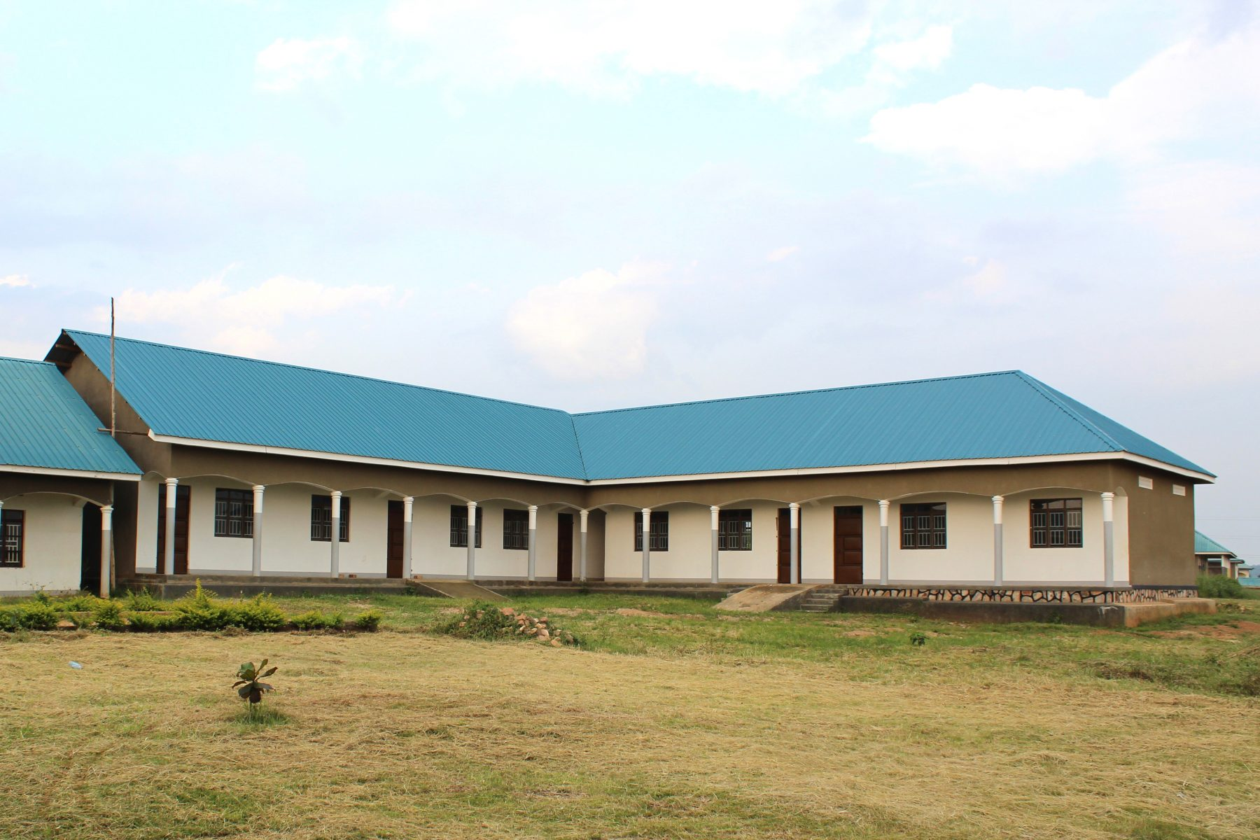 The five-room addtion to Eagles Wings Children's Village High School has been completed.